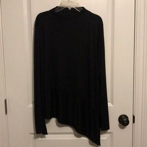 Women's Black Top Size Large